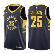 Barn NBA Tröja Indiana Pacers 2018 Al Jefferson 25# Icon Edition..